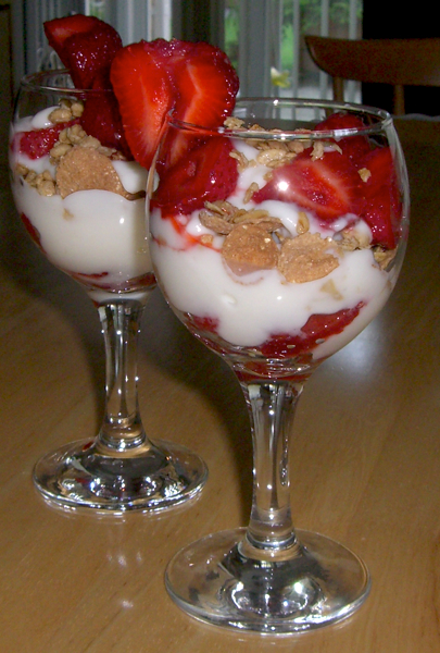Strawberry Yogurt Parfait